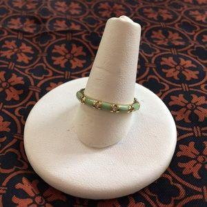 Jewelry - Hidalgo Enamel 18 Karat Yellow Gold & Diamond Ring